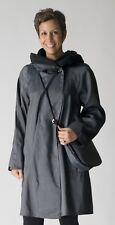 Mycra Pac Rain Nickel Parka -Reversible to Black, w/ Matching Handbag