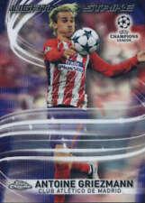 17/18 TOPPS CHROME UEFA CHAMPIONS LEAGUE LIGHTNING STRIKE CARDS LS-X U-Pick List