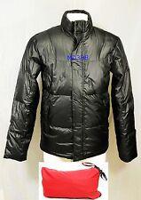 $325 TUMI トゥミ Pack-A-Way DOWN Jacket size S BLACK Winter Coat Men Windbreak NEW