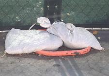"""Sandbags For Sale - White 14"""" x 26"""" Sandbag Sand Bags Bag Poly by Sandbaggy"""
