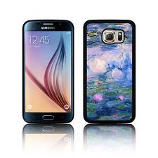 Funda TPU Silicona Nenúfares Monet para Galaxy S3, S4, S5, S6, S7, S8, S8 Plus