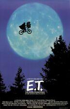 E.T The Extra-Terrestrial 8x10 11x17 13x19 24x36 27x40 Movie Poster Spielberg C