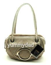 MIMCO MINI HALF MOON LEATHER DAY BAG IN PANCAKE BNWT RRP$379