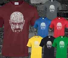 Walter White Crystal T Shirt Mens Breaking Bad Heisenberg Los Pollos Hermanos