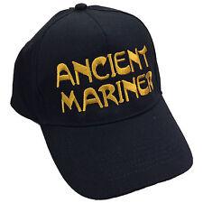 Ancient mariner brodé casquette de baseball-voilier marin slogan unisexe chapeau