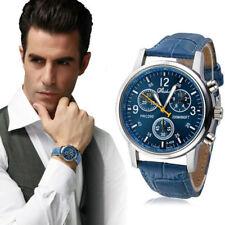 Luxury Men Watch Leather Watches Quartz Military wristwatch Relojes Hombre 2018