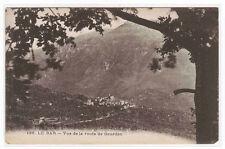 Vue de la route de Gourdon Le Bar France postcard
