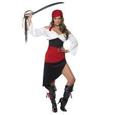 donne adulti sfacciato PIRATESSA BUCANIERE Costume da principessa