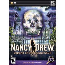 Nancy Drew: Legend of the Crystal Skull (PC CD), Very Good Windows 7, Windows 7