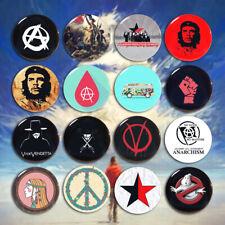 Anarchism & Liberalism Pinbacks Pin Badge Button For Anarchism Tin 5.8cm Decor