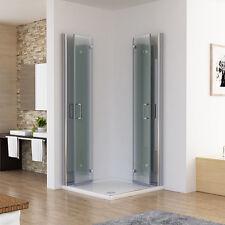 Duschkabine Eckeinstieg Dusche 180° Falttür Duschwand Duschabtrennung NANO 185cm