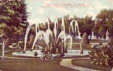 OAK GROVE CEMETERY LA CROSSE, WI 1909