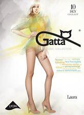 """Gatta """"Laura"""" 10 den Strumpfhose halbmatt versch. Farben und Größen"""