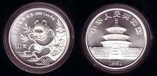 China 10 Yuan Silber Panda 1991