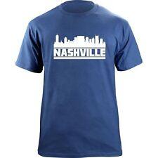 Original Nashville Tennessee Skyline Titans T-Shirt