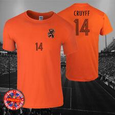 Johan Cruyff Holland Inspired Football T-shirt, Men's, Ladies, Kids