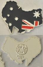 Unusual 2013 Somalia color $1 Map-shaped Australia/Flag-