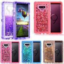For Samsung Galaxy Note 9 Liquid Glitter Case (Fits Otterbox Defender Belt Clip)