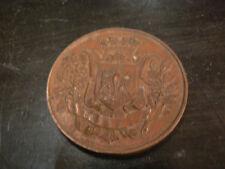 ancienne medaille bronze club de la voile de nice