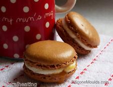 * rojo * de doble cara de silicona para hornear macarones Mat macaroons cookies Repostería Bandeja Para Hornear