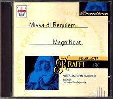 Frans Jozef KRAFFT 1727-1795 Missa di Requiem Magnificat CD HERMAN ROELSTRAETE