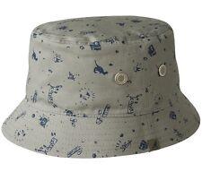 KANGOL faiseur de Pen REV chapeau en cloche été pêche à large bords du tissu