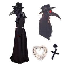 Costume Dottor Peste horror vestito halloween cosplay per adulti abito carnevale
