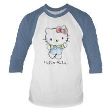Hello Kitty 'Watercolour' 3/4 Length Pochette Field Marshal Baseball Shirt-Official!