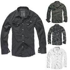 Brandit - SlimFit Shirt Hemd Outdoor