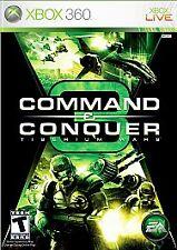 Command & Conquer 3: Tiberium Wars (Microsoft Xbox 360, 2007)
