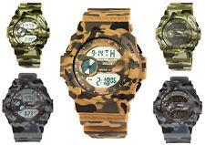 Armbanduhr Herren Camouflage Xinjia Digital Army Military-Stil versch. Design