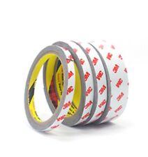 3M 4012 Automotive Acrylic Foam Double Sided Adhesive Tape Gray Length 1.5M