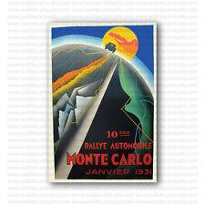 Rallye Monte Carlo 1931 by Falcucci Vintage Racing Repro Poster