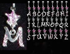 Stella con cristalli INIZIALE PIERCING OMBELICO - 2 colori