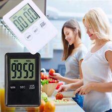 Nero/bianco LCD digitale cucina magnetico TIMER su giù Egg Cottura Allarme