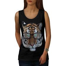 Tiger Hipster Wild Animal Women Tank Top NEW | Wellcoda