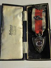 1924 STERLING SILVER REGE LEGE ET GREGE - MEDAL - IN ORIG BOX