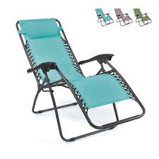 Sedia sdraio per spiaggia e giardino pieghevole multiposizione EMILY Zero Gravit