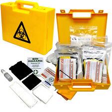 Qualicare Biohazard urgence Fluide corporel sang Spill Nettoyer kit, pack de 5 cas