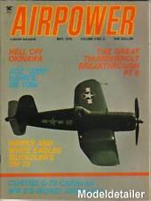 Airpower Magazine V4 N3 Mussolini SM79 Curtiss C-76 Caravan Okinawa Thunderbolt