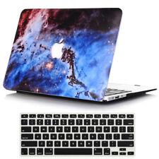2in1 Galaxy Design Hard Case Cove for Macbook Air 13 A1369 A1466 + Keyboard Skin