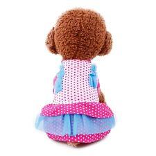 Taza De Té Pequeño Cachorro Perro Vestido XS Reino Unido Chihuahua ropa pequeño Top 17CM Rosa manchada