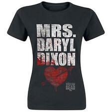 The Walking Dead Mrs Daryl Dixon Rick Grimes Crossbow Walker Juniors T Tee Shirt