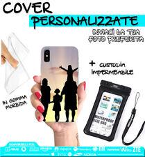 """COVER FOTO PERSONALIZZATA + CUSTODIA SUBACQUEA UNIVERSALE MAX 5.2"""" PER HUAWEI"""