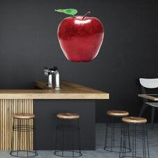 rode appel Vers fruit Muursticker WS-45074