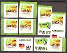 2012 Bund 2936 Fussball begeistert Deutschland SK aus Markenset ** postfrisch