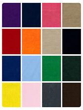 Tissu suédine uni-Matériaux en daim synthétique-Polyester-doe peau - 158cm (62 pouces)