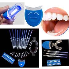US  Dental oral Bleaching LED teeth Whitening Light lamp NO gel / w 10 gel kit