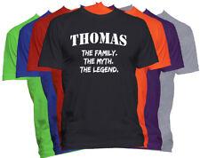 THOMAS Last Name Shirt Custom Name Shirt Family Reunion Family Name T Shirt