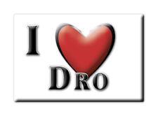 CALAMITA TRENTINO ALTO ADIGE FRIDGE MAGNET MAGNETE SOUVENIR LOVE DRO (TN)--